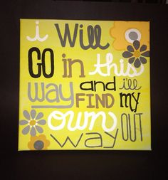 Dave Matthews Band 41 quote painting on Etsy, $30.00