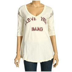 We The Free People 'I Love Your Band' Shirt
