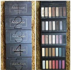 Younique addiction eye shadow palettes available in 5 choices ♥ Www.youniqueproducts.com/emjayslittlepretties