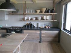 Greyed Oak Kitchen Ideas, Kitchen Design, Grey Oak, Kitchens, Home, Design Of Kitchen, Ad Home, Kitchen, Homes