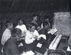Arkady Shaikhet / Аркадий Шайхет. Элиста. Обучение калмыков в школе  1929 г.