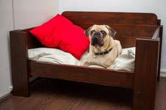 Maybe a nice new bed will help Miss Cleo get better quicker Pallett Dog Bed, Diy Dog Bed, Tio Nacho, Pallet Art, Pallet Projects, Dog Crate Cover, Dog Items, Pallet Creations, Dog Carrier