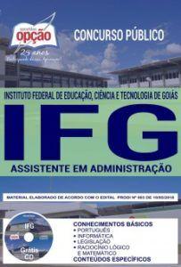 Apostila Concurso IFG 2018 Assistente em Administração