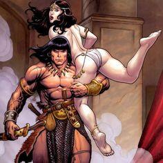 Conan the Cimmerian by Frank Cho