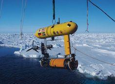 SeaBED-class AUV。アメリカに本部を置くウッズホール海洋研究所によって開発されたAUV(自律型無人潜水機)の一つ。南極海の厚い氷の下に潜って自律的にセンサーで障害物を回避しつつマッピングを行える。稼働時間は8時間。