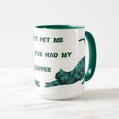 Don't Pet Me Coffee Mugs