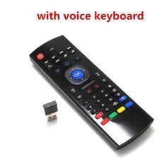 2b9bde9ed5a MX3 Air Mouse Backlit MX3 Mini Wireless Keyboard Smart Remote Control
