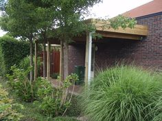 Carport overkapping tuin op maat gemaakt door tuinmani