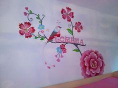#muurschildering #Pip Studio #niekiekidsdesign