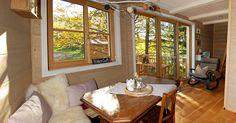 Das Baumhaushotel im Allgäu macht einen Aufenthalt mitten der Natur möglich…
