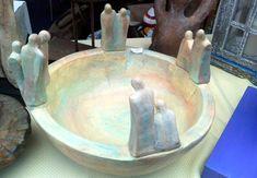 Serving Bowls, Decoupage, Pottery, Sculpture, Tableware, Mendoza, Diy, Paintings, Furniture Restoration