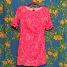 Lilly Pulitzer Dress Adorable keyhole back.  Can't remember wearing this so I think it's new without tags. Lilly Pulitzer Dresses