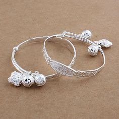 99 Baby Sterling Silver Bangles