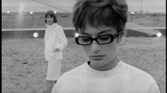 "Anouk Aimee in ""8½"" (1963, Federico Fellini) / Cinematography by Gianni Di Venanzo"