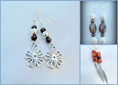 Hey, I found this really awesome Etsy listing at https://www.etsy.com/listing/110684611/3-boho-earrings-boho-jewelry