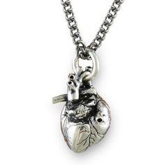Reason Why I'm Broke: Anatomically Correct Heart Necklace