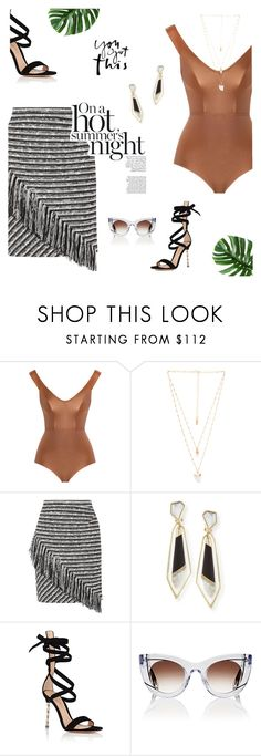 """""""Untitled #372"""" by duciaxoxo ❤ liked on Polyvore featuring Zimmermann, Natalie B, Raoul, Alexis Bittar, Gianvito Rossi, Thierry Lasry and summerstyle"""