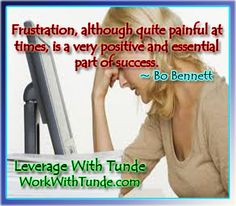 Frustrations and Success!
