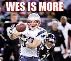 Wes is more!