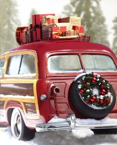 Christmas Past Getting that new old car for your gift this year - don't forget the insurance! http://classiccarinsurance.com/