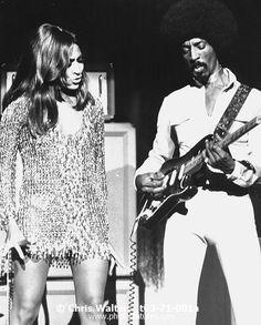 Ike and Tina Turner 1971