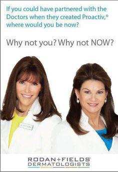 Rodan + Fields....Why not now? Our team is offering ground-level opportunity to join our team and earn a lucrative income. USA now, Canada in 2014 Lace up and run with us! Contact me to learn more. www.chantalboncher.myrandf.biz