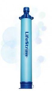 LifeStraw®: é una cannuccia in grado di rendere potabile tramite degli speciali filtri qualsiasi acqua stagnante