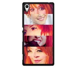 Hayley Williams Lips And Eyes TATUM-5196 Sony Phonecase Cover For Xperia Z1, Xperia Z2, Xperia Z3, Xperia Z4, Xperia Z5