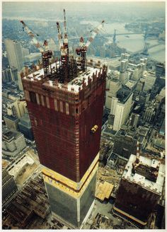 WTC under construction - May 1970