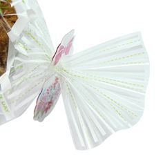 Green leaf printed cellophane bags. Great wrapping for birthday party, wedding cookie, homemade cookie. www.morecozy.com