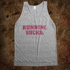 I want to run in this shirt.