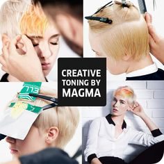 Wella Professionals Creative Toning By Magma.