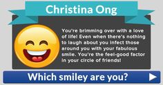 Which smiley are you?
