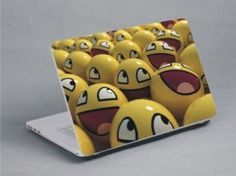 Smiley faces to cheer you up! Smiley Faces, Cheer You Up, Laptop Skin