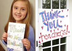 With Teacher Appreciation Week around the corner, here are some FUN ways to show your teacher how much they are appreciated within the constraints of social distancing! 18 fun and creative Quarantine Teacher Appreciation Ideas! Service Projects For Kids, Sweet Tea Recipes, My Favourite Teacher, Homemade Signs, Feeling Appreciated, Simple Poster, Hanging Posters, Sign Company, Send A Card