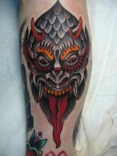 traditional tattoo.