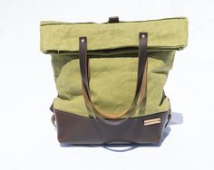 Convertible Backpack and Shoulder Tote. Meet at Strawberry Indie Craft Fair Stylish Backpacks, Convertible Backpack, New Handbags, Style Challenge, Crossbody Wallet, Spring, Tote Bag, Shoulder, Leather