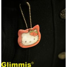 Hello Kitty reflector 50 Years Ago, Good And Cheap, Pedestrian, Inventions, Dog Tag Necklace, Hello Kitty, Safety, Lily, Pendant