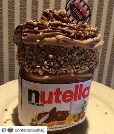 #Repost @confeitariaelhajj with @repostapp.  E o nosso Maravilhoso Festival continua ! #confeitariaelhajj #nutella #festivalnopotedenutella by criselhajj http://ift.tt/1UdFvLN