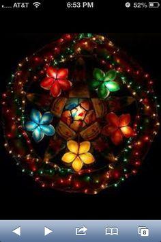Pretty Parol Colors Christmas Parol, Christmas Lanterns, Christmas Bulbs, Christmas In The Philippines, Visayas, South Pacific, Pinoy, Filipino, Wonderful Time