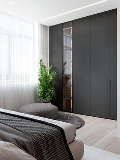 Top 13 Closet Door Ideas to Try to Make Your Bedroom Tidy and Spacious - Site Home Design Home Bedroom, Modern Bedroom, Bedroom Decor, Bedroom Ideas, Master Bedrooms, Bedroom Inspiration, Bedroom Romantic, Minimalist Bedroom, Trendy Bedroom