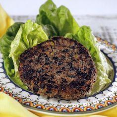 black bean quinoa burger the chew more black beans black bean ...