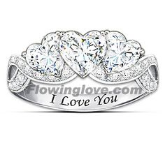 Affordable women's rings, nice & cheap girls rings, young ladies rings on discount, fashionable teen rings for less, Inexpensive rings for her at the right price ! Heart Shaped Promise Rings, Cheap Promise Rings, Promise Rings For Couples, Diamond Promise Rings, Rings For Girls, Heart Ring, Valentine's Day Rings, White Topaz Rings, Cute Rings