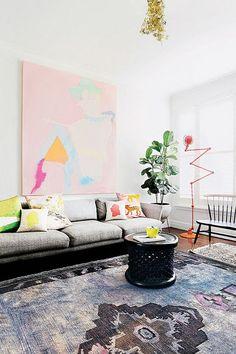 Interior Design | Colorful Melbourne Apartment ( HID )
