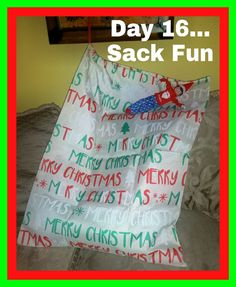 Day 16...Sparky's Sack Fun....Part 2