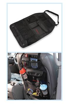 Van Organization, Backseat Car Organizer, Drink Holder, Waterproof Fabric, Pockets, Toyota, Easy, Black, Products