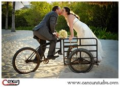 mexican tricycle - Grand riviera princess wedding photography