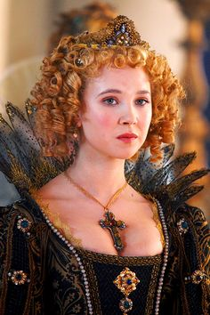 Juno Temple portraying Queen Anne on the set of The Three Musketeers (2011)