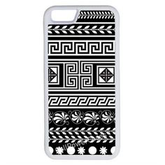 CellPowerCasesTM Black Tribal Pattern iPhone 6 (4.7) Protective V1... ($13) ❤ liked on Polyvore featuring accessories, tech accessories, phone cases, phones, phonecase's and white