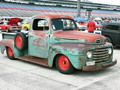Knowing the 1947 Ford F-1 was a solid piece of steel to start with, Art decided he could turn this truck into something much more!